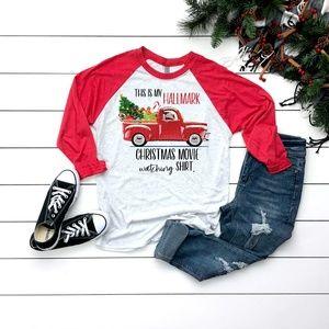Raglan Christmas T-Shirt